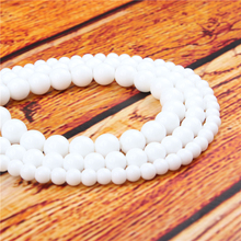 Shiraishi Natural Stone Bead Round Loose Spaced Beads 15 Inch Strand 4/6/8/10/12mm For Jewelry Making DIY Bracelet