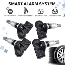 4 本タイヤ空気圧監視システム (TPMS) センサー 3AA907275 3AA907275B 3AA907275F RDE013 433 フォルクスワーゲンティグアン CC 用