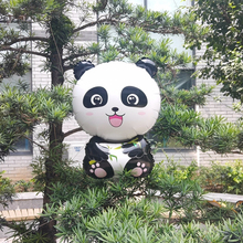 1pc Panda Forest Animal Aluminum Film Balloon Children's Day Happy Birthday Kids Party Decoration Boy And Girl Favorite Toy Gift ланчбокс panda happy every day grey