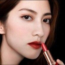 6 цветов Сексуальная красная бархатная помада Водонепроницаемая Увлажняющая помада Роскошная Косметика для макияжа губ