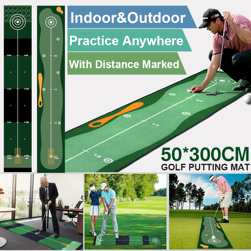 Indoor Outdoor Training Golf hitting Carpet 1