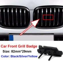 1 шт. автомобиль передняя решетка значок эмблема для решетки радиатора для м Bwm E90 E60 F10 F30 E46 G20 X1 X3 X4 X5 X6 E70 F20 E39 E92 E63 автомобильной Товары