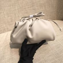 Cloud bag small CK cross bag leather dumpling bag 2020 new fashion trend