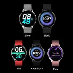 Image 5 - CYUC T4 IP67 ผู้หญิงกันน้ำ Smart Watch Heart Rate เครื่องวัดความดันโลหิต Fitness Tracker Sport smartwatch สำหรับ Android IOS