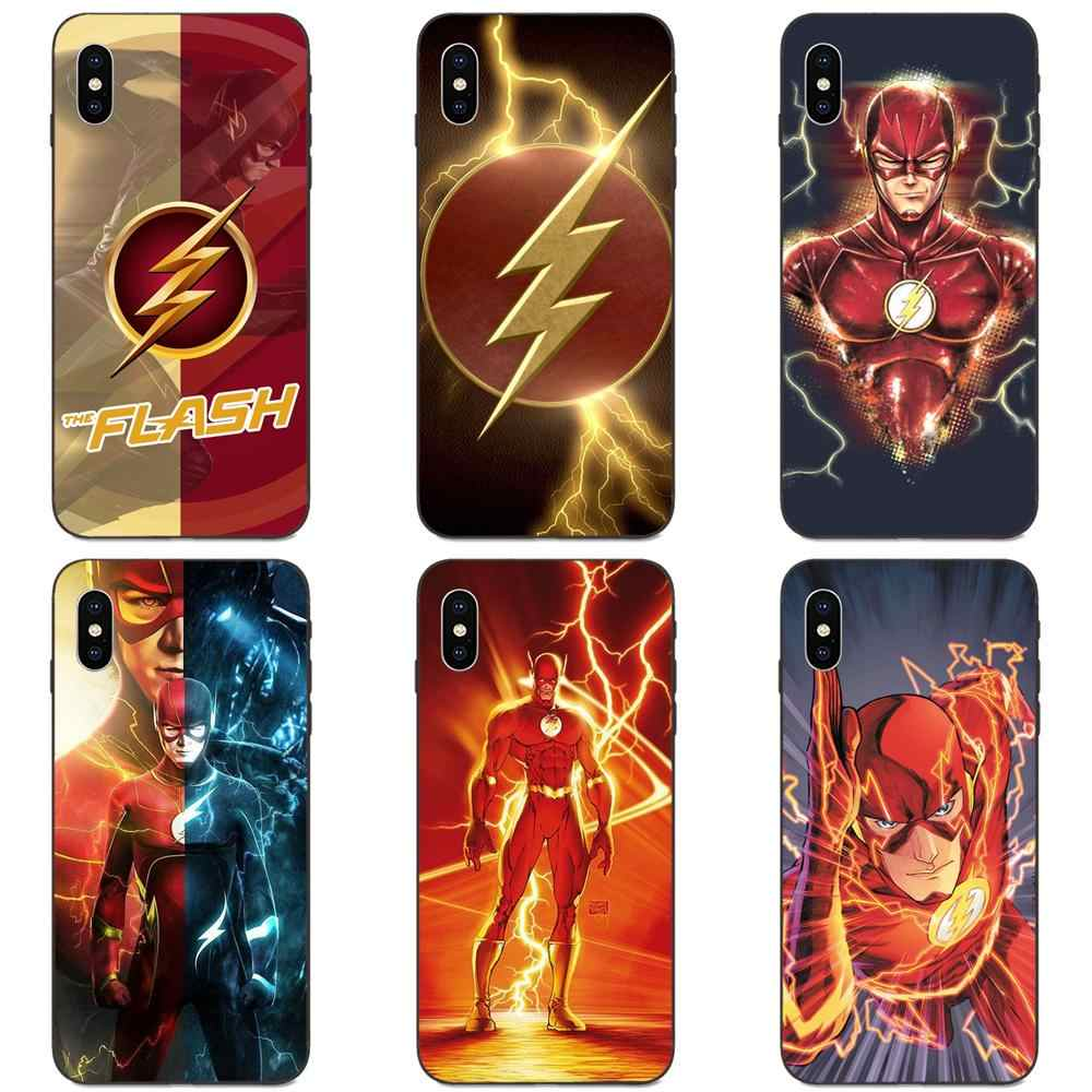 Superheroes De Flash Barry Allen Voor Galaxy A10S A20S A2 Core A30S A40S A50S A70S A90 5G M10 M30S m40 Note 10 Plus