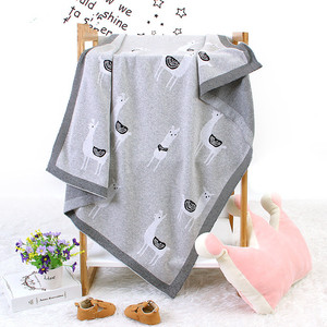 Image 2 - Baby Bed Knitted Blanket Alpaca Newborn Swaddle Wrap Soft Infant Toddler Sofa Bedding Sleeping Blankets Baby Stroller Accessory