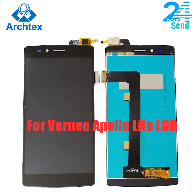 "For Original Vernee Apollo Lite LCD Display and Touch Screen +Tools Digitizer Assembly Replacement 1920X1080P 5.5"" in stock