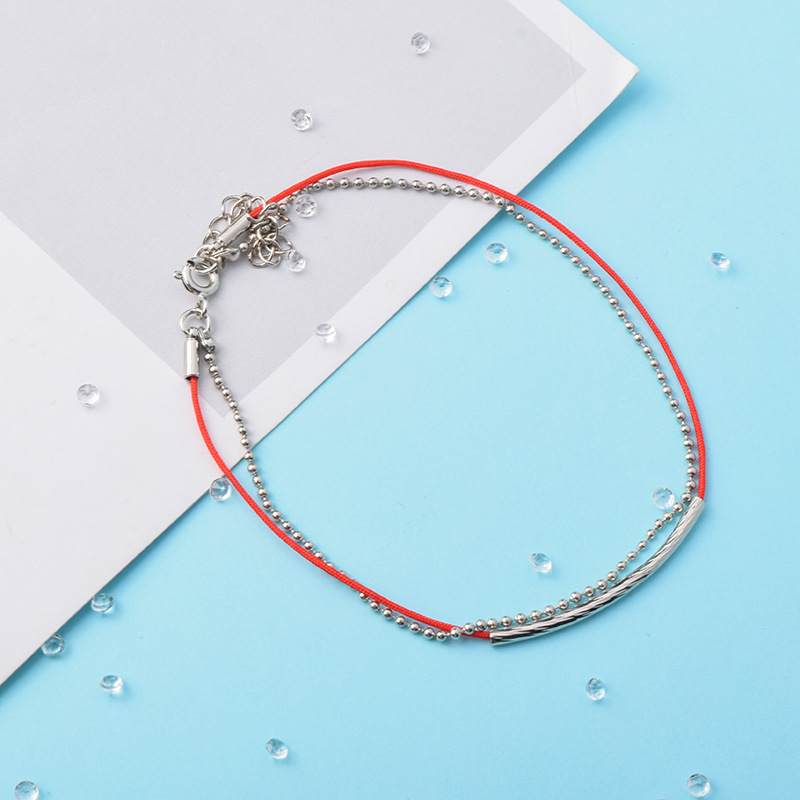 KPOP Bracelet  Bangtan Boys JIMIN JUNGKOOK V Link Leather Red Rope Charm Bracelets  Jewelry For Women Men Accessories