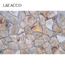 Laeacco – fond de photographie en pierre, papier peint mural empilé, pour fête, Portrait de bébé, pour Studio Photo
