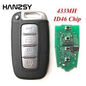 4 кнопки 433 МГц Автомобильный ключ для Hyundai I30 IX35 Sonata Genesis Equus Veloster 2009 2010 2011 2012 2013 2014 2015 дистанционный ключ