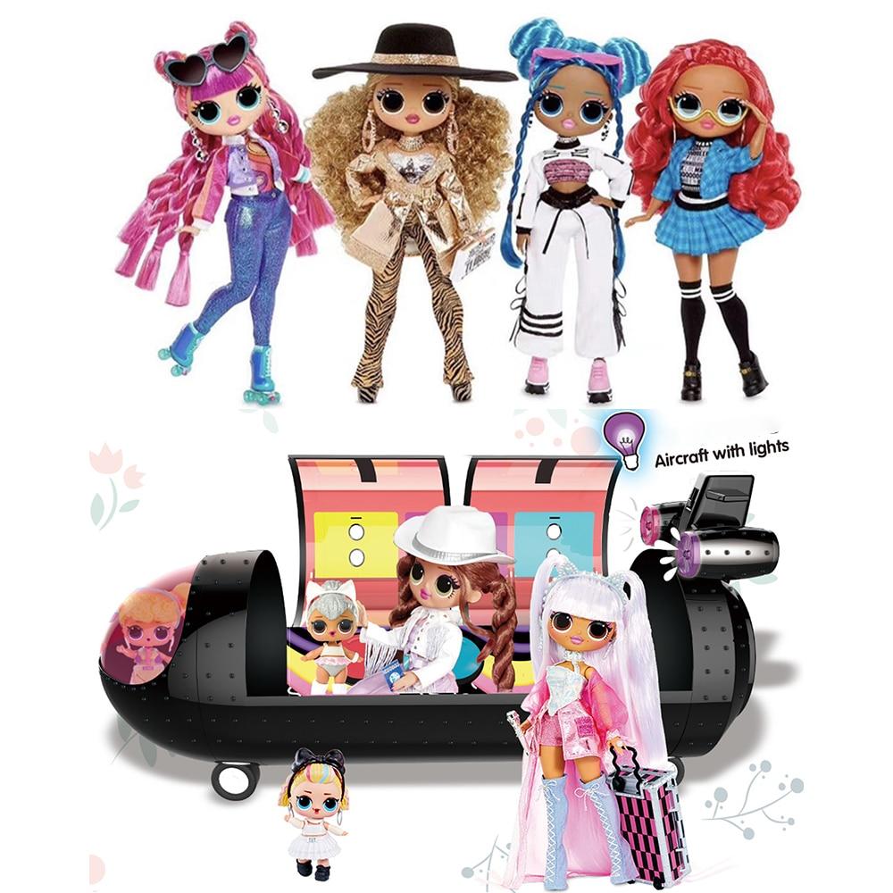 Куклы LOL Surprise O.M.G. Remix Kitty K Lonestar Pop B.B. Модные куклы для малышей honeylприятный подарок на Рождество