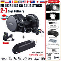 48V 750W Bafang BBS02B Mid Drive ebike Motor Electric Bike Conversion Kit with 12Ah 17.5Ah 52V 14Ah Bicycle Battery Samsung Cell