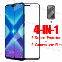 2.5D Full Cover Screen Protector For Huawei Honor 9A 9C 9S X10 8X 9X 20 Lite Glass For Huawei Y9S Y8P Y7P Y6P Y5P Tempered Glass