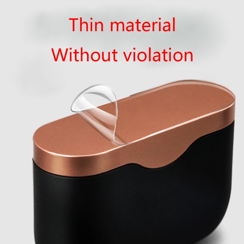 1Set High Transparent Protective Film Sleeve Anti-scratch Skin Protector For So-ny WF-1000XM3 Bluetooth Earphones