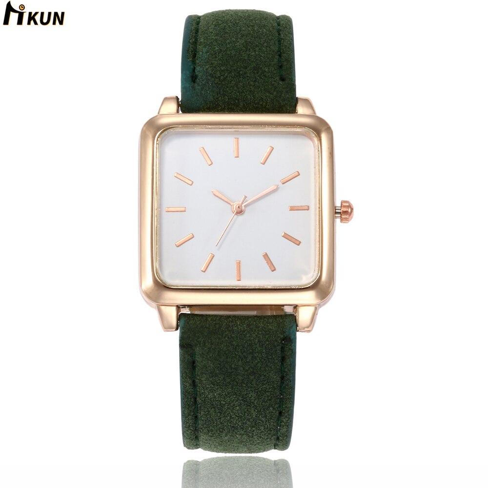 2019 Sloggi Relogio Feminino Women Watch Creative Luxury Ladies Quartz Wrist Watch Square Dial Watch Women Watches Reloj Mujer