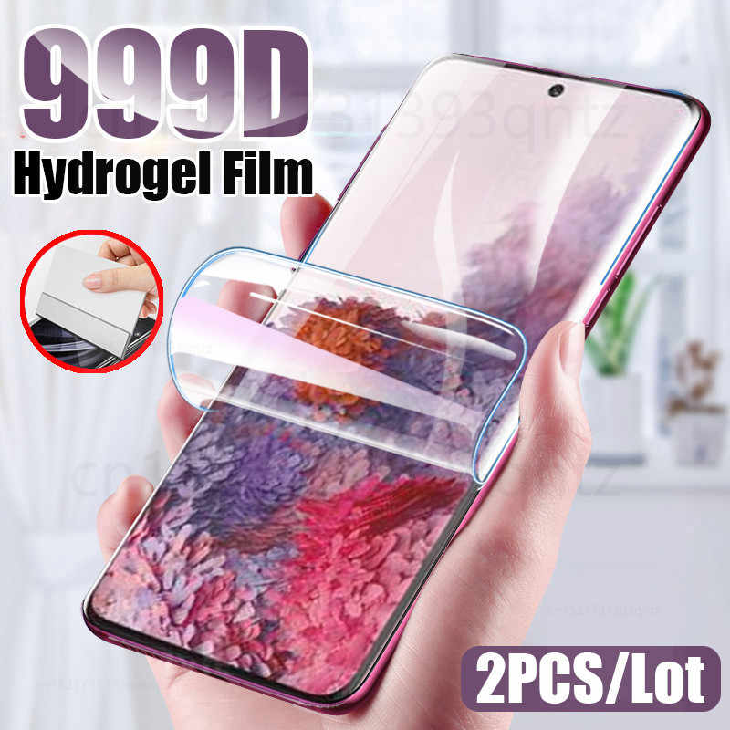 Hydrogel Film Screen Protector Voor Samsung Galaxy S7 Rand S10 S20 Plus Ultra Voor A50 A51 A70 A30S S10E Zachte screen Protector