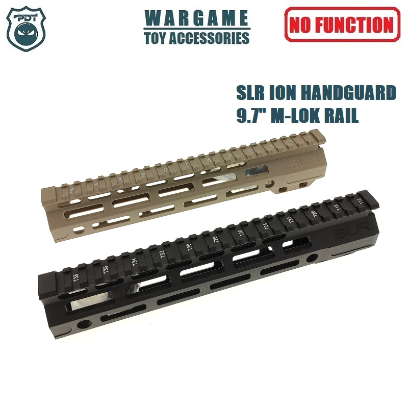 "9.7"" SLR ION Rail M-Lok AR Handguard For Toy Water Gel Ball Blaster Airsoft AEG GBB"