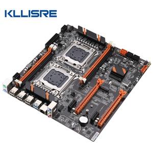 Image 3 - Kllisre X79 doble CPU placa base LGA 2011 E ATX Tablero Principal USB3.0 SATA3 PCI E 3,0 16X PCI E NVME M.2 SSD compatible con procesador Xeon