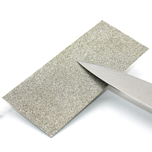 купить Single side 80 Grit Thin Diamond Knife Sharpening Whetstones Polishing Knife Sharpener Plate Grinding Disc Abrasive Stones дешево