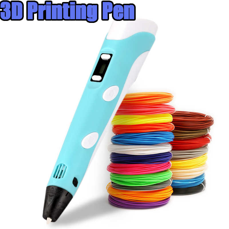 3D DIY Printing Drawing Pen 1.75mm ABS//PLA Filament Kids Educational Toy Gifts