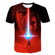 New spring boys and girls movie Star Wars T-shirt children tee boys and girls short sleeve T-shirt children tops baby clothes forrest gump romance drama movie peas and carrots juniors v neck t shirt tee