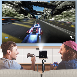 Image 4 - Vivicine suporte 4 k mini projetor, 4000 mah bateria, suporte miracast airplay portátil móvel projetor vídeo beamer