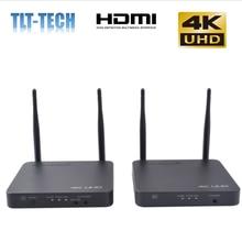 2020 новый обновленный 5 ГГц 4K беспроводной трансмиттер HDMI удлинитель приемник 200 м беспроводной Wi-Fi HDMI передатчик DVD ПК к телевизору