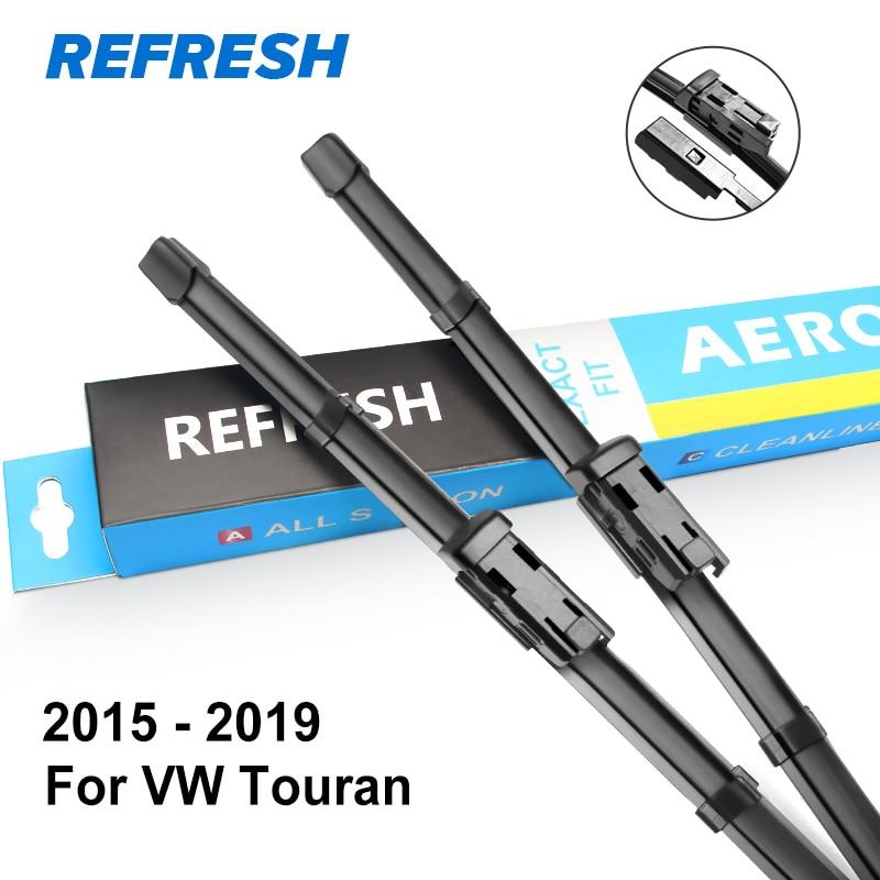 Стеклоочистители для Volkswagen Touran Fit сторона Pin руки 2003 2004 2005 2006 2007 - Цвет: 2015 - 2019