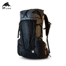 3F ULเกียร์Ultralightกระเป๋าเป้สะพายหลังกรอบYUE 45 + 10Lเดินป่ากลางแจ้งน้ำหนักเบาTrekking Rucksackผู้ชายผู้หญิง