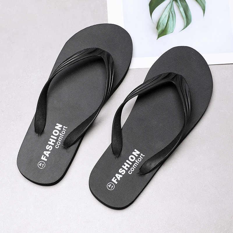 Wolf Die Zomer Mode Mannen Slippers Strand Sandalen Voor Mannelijke Platte Slippers Antislip Licht Schoenen Plus Size sandalen Pantufa X165