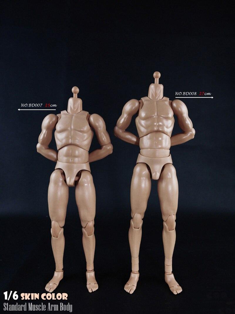 US MX02-A 1//6 Male Body Suntan Skin Strong Muscle Edge Caucasian Skin Tone Model
