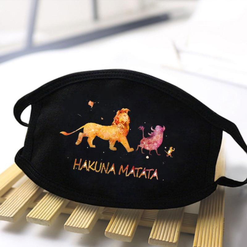 2020 Unisex Cartoon Cute Print Mask Antibacterial Funny Women Masks Washable Reusable Masks Protective Comfortable Man Masks