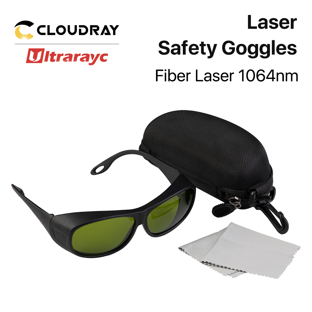 Ultrarayc 1064nm Laser Safety Goggles Protective Glasses Shield Protection Eyewear Style C 850nm-1300nm For YAG DPSS Fiber Laser
