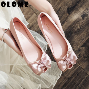 Image 2 - Summer Sandals For Women 2019 New Spring Womens Shoes Header Sandals Jelly Shoes Womens Fashion Bow Tide Fish Mouth Shoes