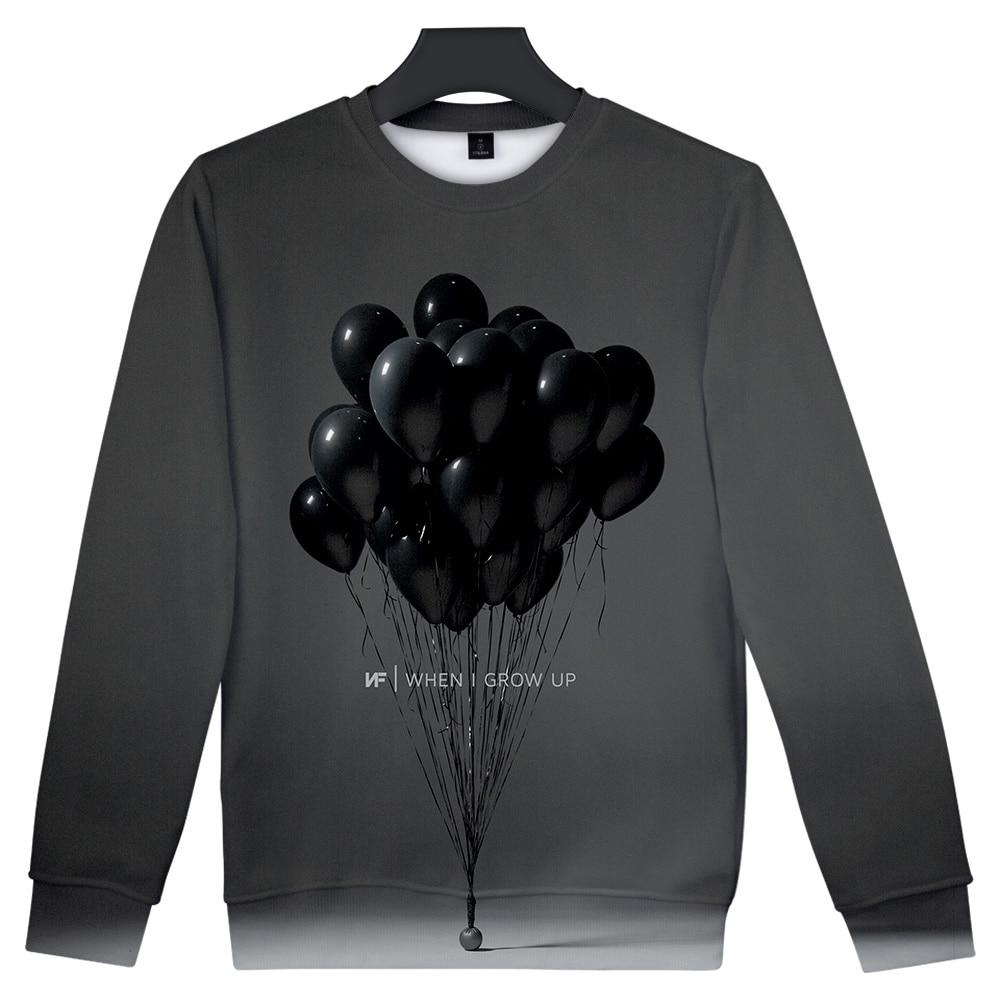 NF 3D Art When I Grow Up Sweatshirt 1