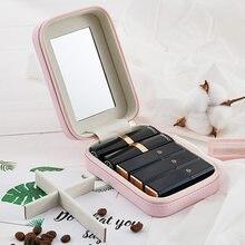 Коробка для губной помады портативная мини коробка хранения