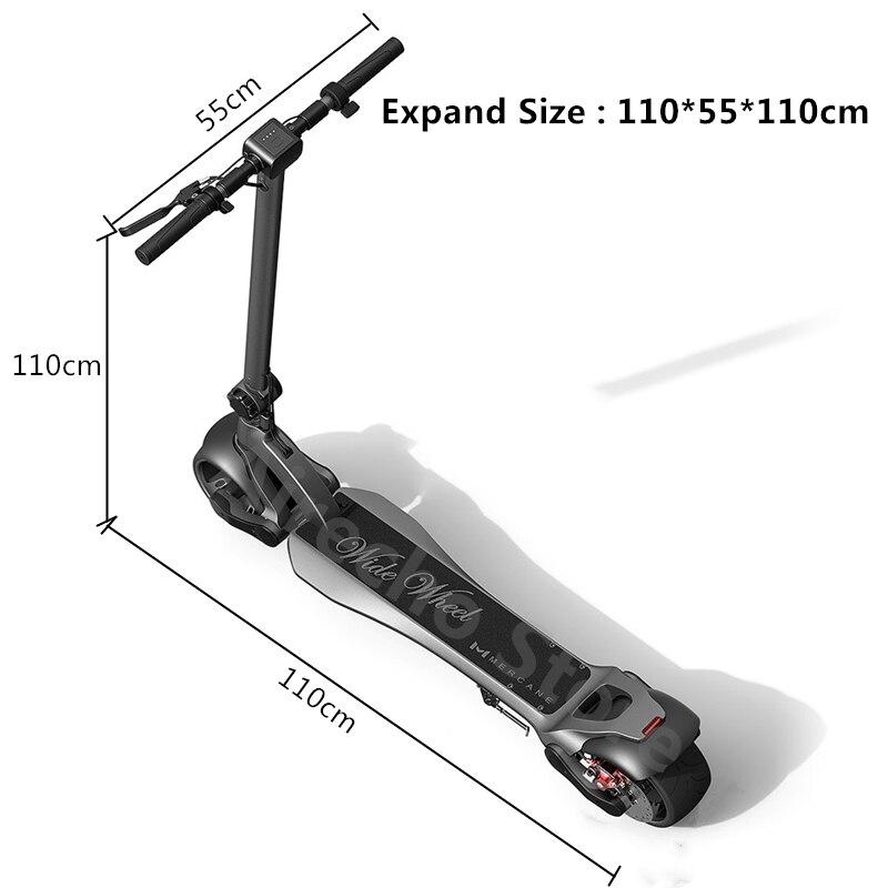 scooter elétrico roda larga 48 v 500