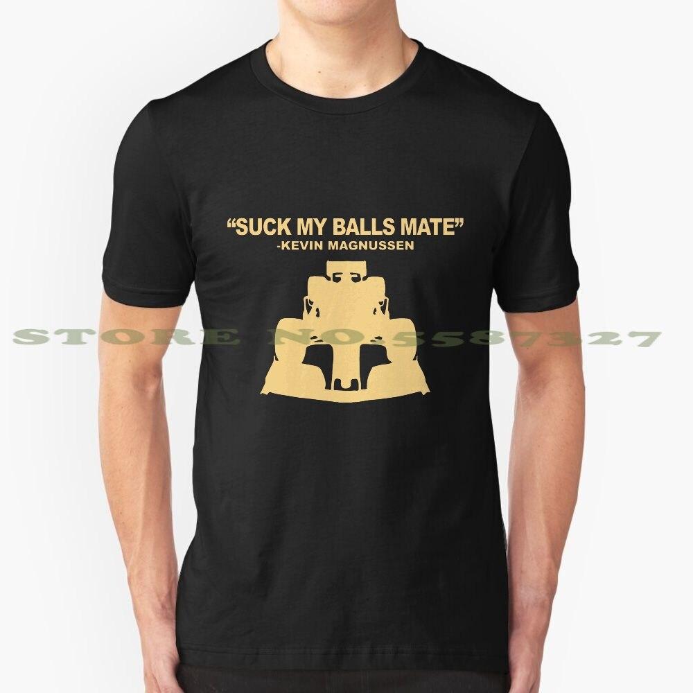 Suck my balls mate - Kevin Magnussen cool design t-shirt for men women