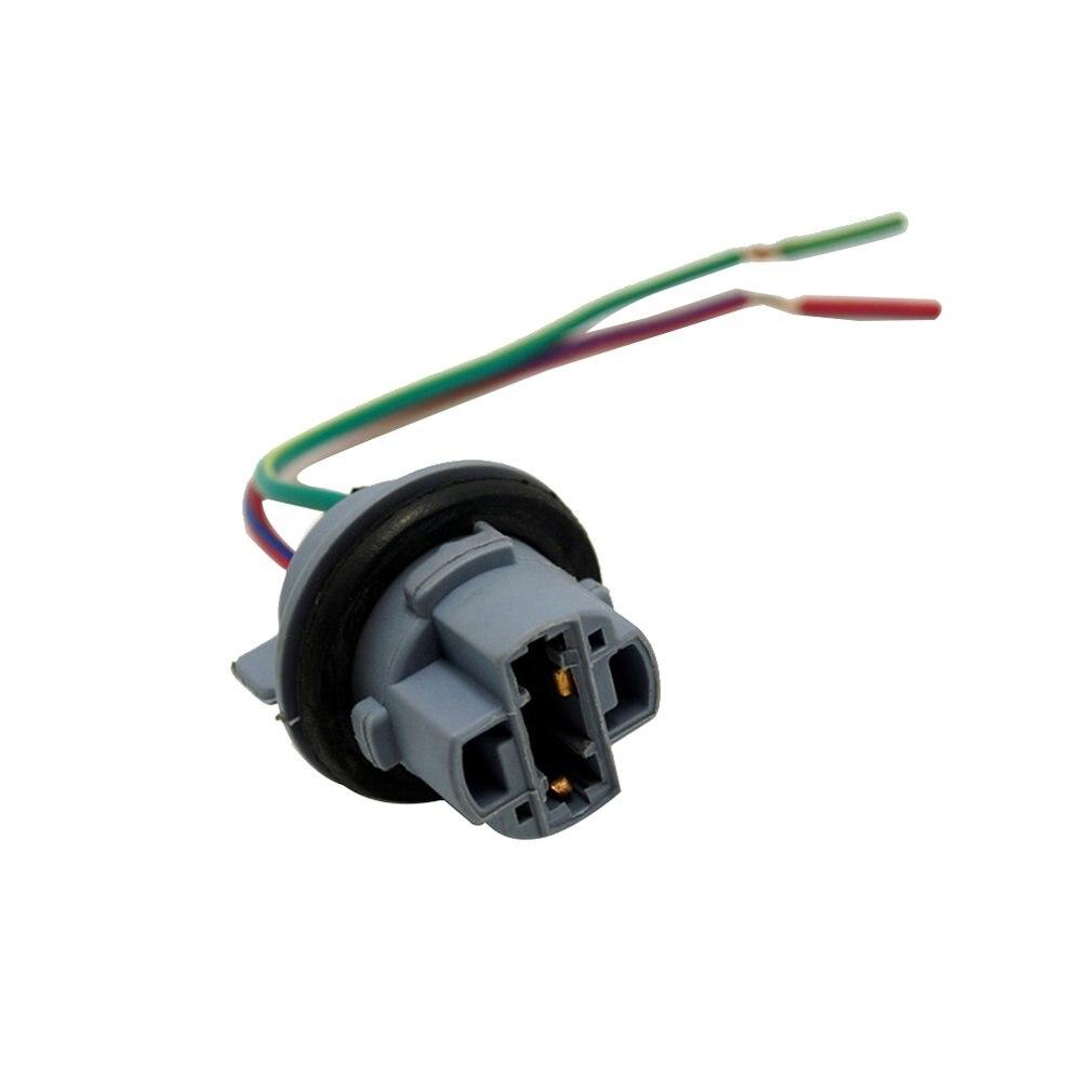 1Pcs Car 7440 / W3X16D / W21W / T20 LED Lamps Lights Signal Lights Socket