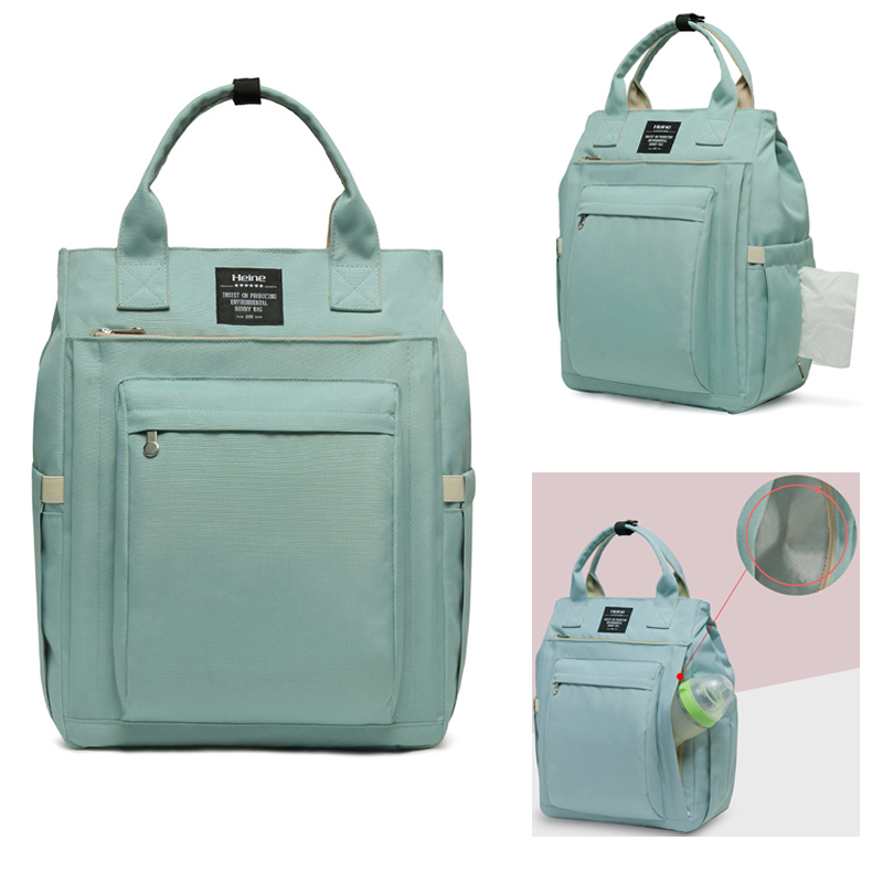 2019 Waterproof Diaper Bag For Mommy Maternal Nappy Backpack Baby Infant Organizer Nursing Changing Mom Mother Pram Bag To Care