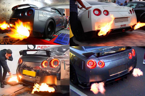 Image 5 - Auto Rev Limiter Builder Uitlaat Flame Thrower Kit/Power Rev Limiter Ontsteking Launch Control Fire Controller Kits