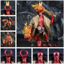 """Hellboy figuras de acción de 6 """", Un Rama 1/12 Anung, armas y espada KO 1000"""
