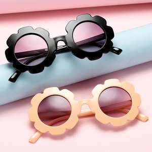 Sunflower Sunglasses Eyewear Summer for Baby Practical-Accessory Sun-Protection Girls