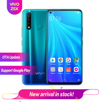 Vivo Z5X 6.53 Full Screen 8G 128G Snapdragon 710 OTG Reverse charging 2340*1080 5000mAh Fingerprint+Face ID 16MP+16MP+8MP+2MP