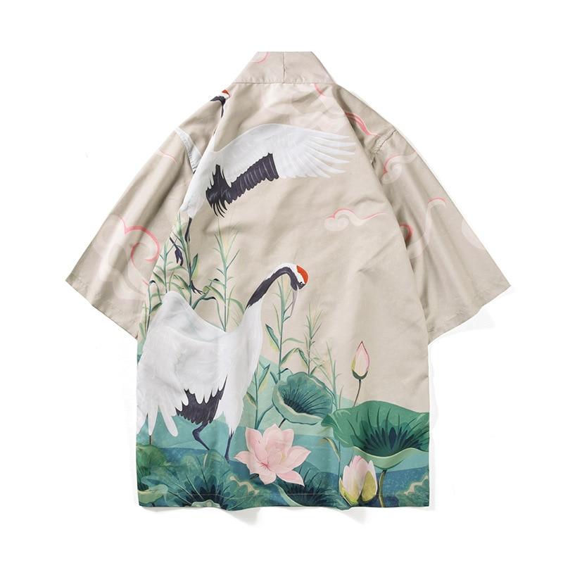 Traditional Japanese Mens Clothing Japanese Kimono Traditional Japanese Cosplay Yukata Men Japanese Pajamas Mens