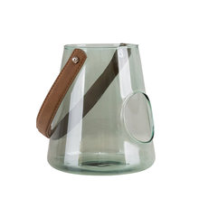 Molde para portavelas De tarro De vidrio, cuencos De cilindro De vidrio moderno nórdico, Centro De Mesa, vela grande, decoración De farol, KK60ZT
