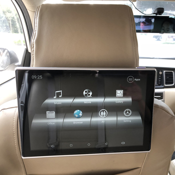 Car Intelligent System Multimedia Player Android Headrest Monitor For Lexus RC Class Rear Seat Entertainment TV Screen 11.8 inch