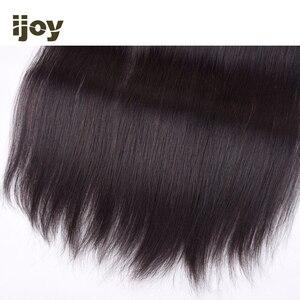 """Image 5 - שיער טבעי 4x13 תחרה פרונטאלית ישר/גוף גל/קינקי קרלי צבע טבעי 8 """" 20"""" M ברזילאי שיער פרונטאלית שאינו רמי IJOY"""