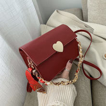 Retro female 2020 new Hong Kong style fashion texture wild shoulder messenger small square bag вибратор hong kong might give my love