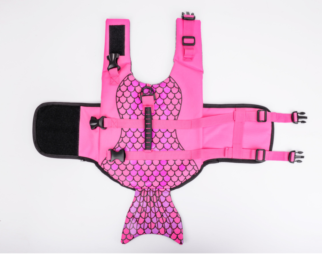 New dog life jacket in summer cute and practical dog swimsuit pet life jacket summer dog clothes clothes for doggies